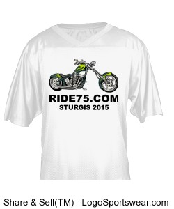 Sturgis Ride Football Jersey Design Zoom